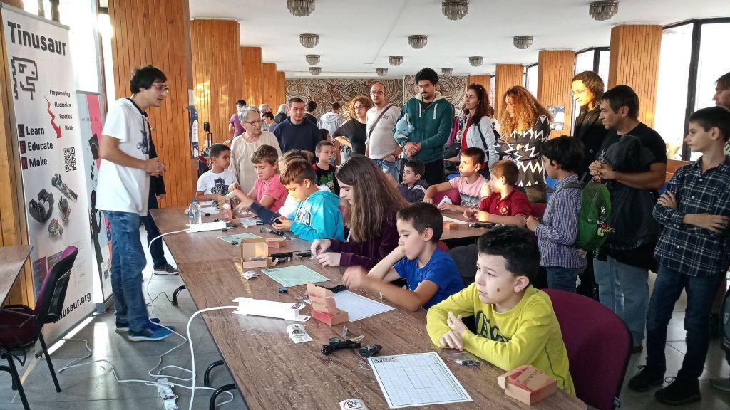 Тинузавър на Европейска нощ на учените - Велико Търново