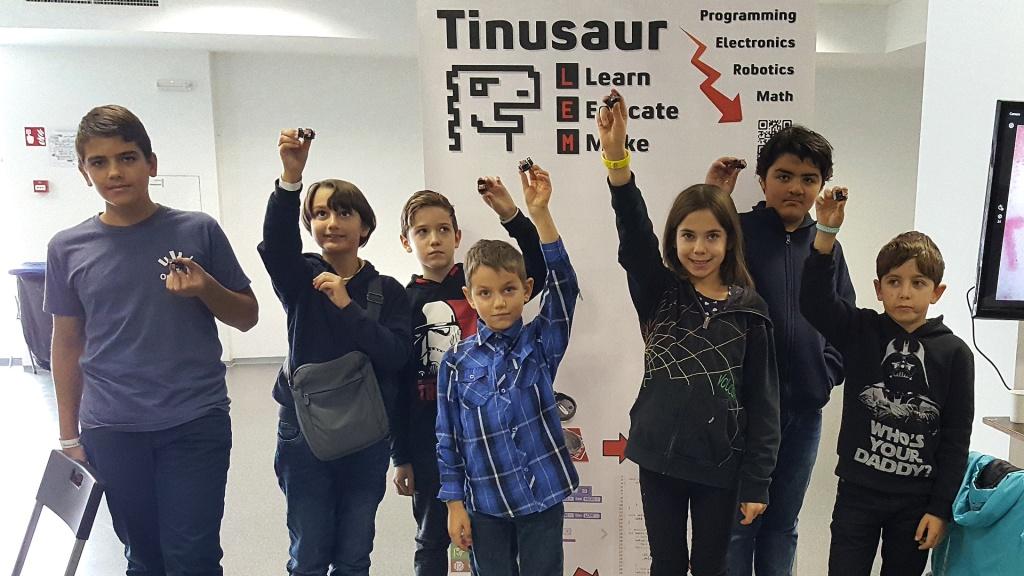 Тинузавър на OpenFest 2019