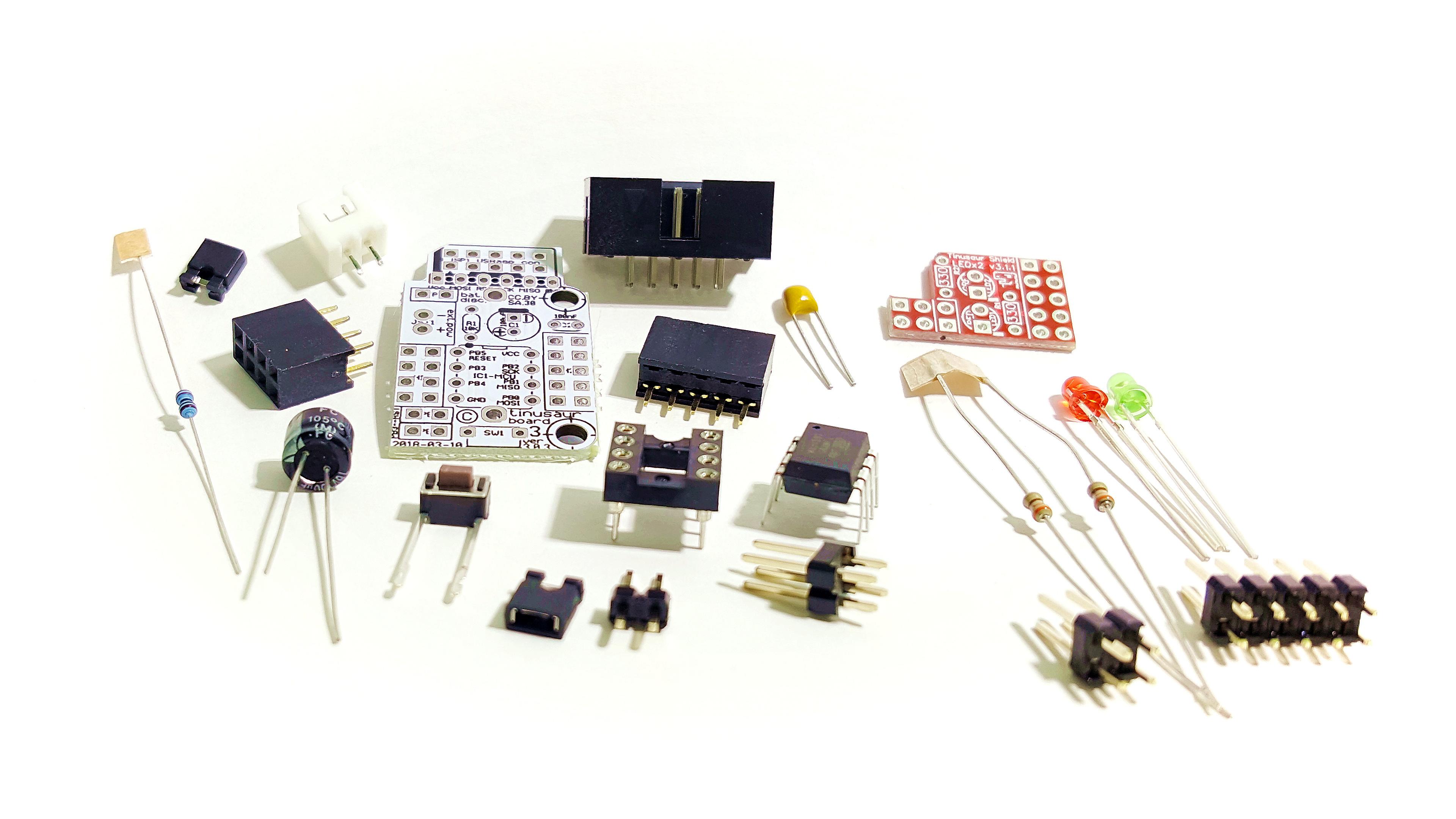 Тинузавър комплект OLED